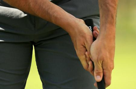 Rory McIlroy changes putting grip