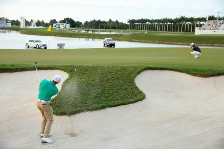 Rory McIlroy leads at the WGC Cadillac