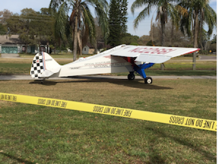 Teenager pilot makes emergency landing on golf course