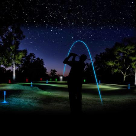 Night  golf comes to Northern Ireland