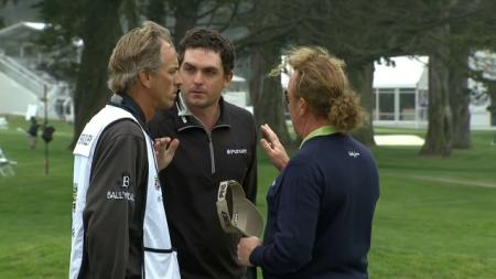 Miguel Angel Jimenez and Keegan Bradley