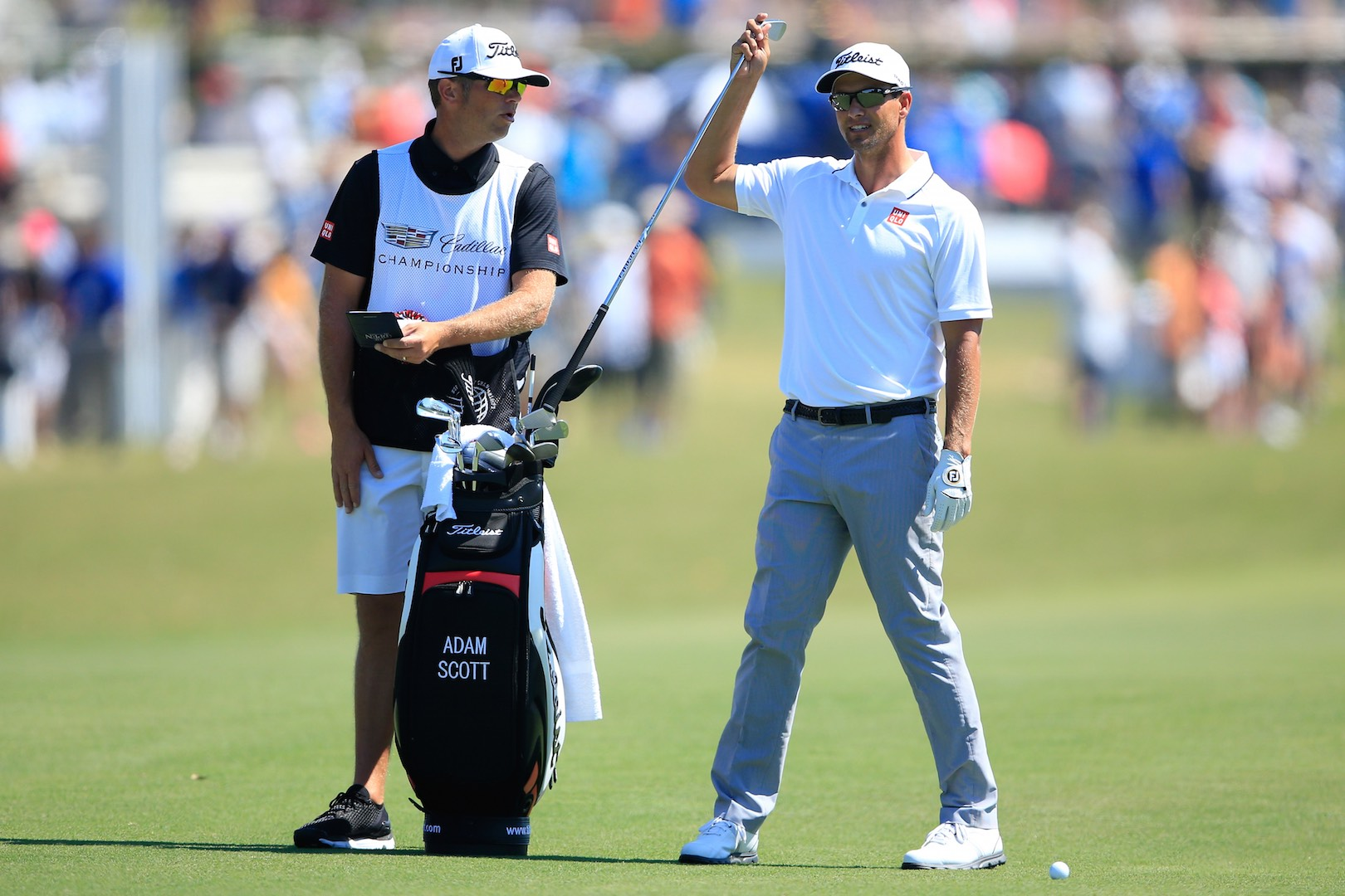 What's In The Bag At The WGC-Cadillac