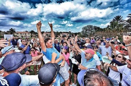 Rickie Fowler Makes Million Dollar HOLE-IN-ONE!!!
