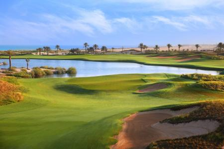GolfPorn: Saadiyat Beach Golf Resort