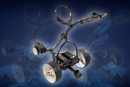 Motocaddy S7 Remote Electric Golf Trolley