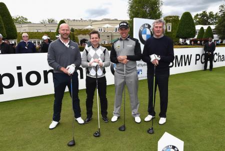 Football and Golf meet at Cheltenham