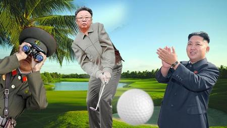 The day Kim Jong IL became world's best golfer