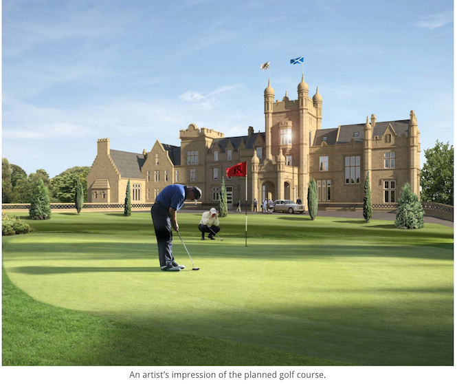 New Jack Nicklaus course to open in Scotland in 2020