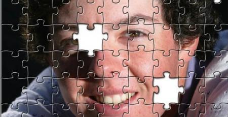 Rory McIlroy's bedroom jigsaw triumph