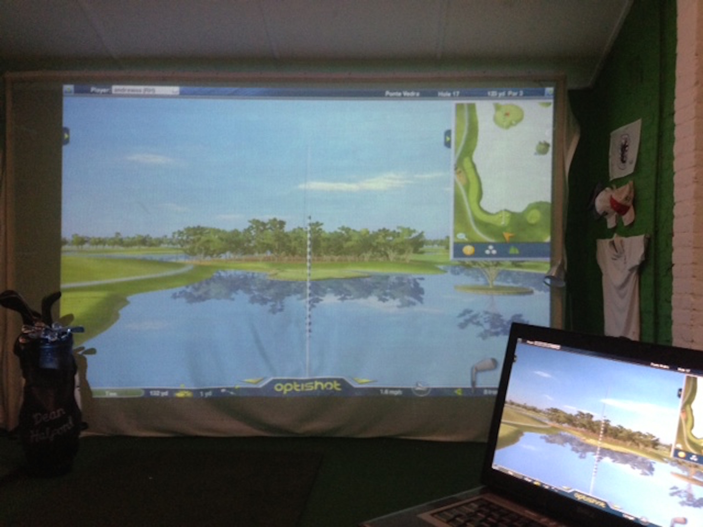 A golf simulator for £400?!