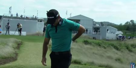 Jason Day suffers injury on 16th tee at WGC