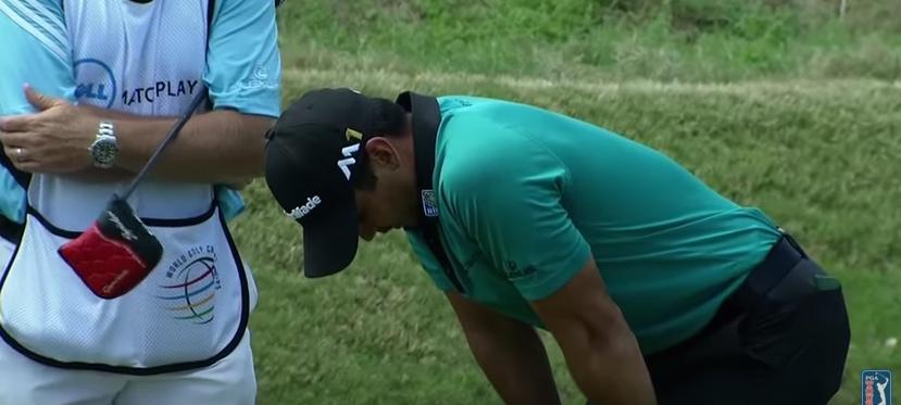 Jason Day suffers injury on 16th tee at WGC