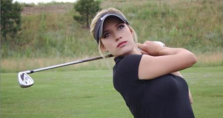 Paige Spiranac, You Saw Her Here First!!