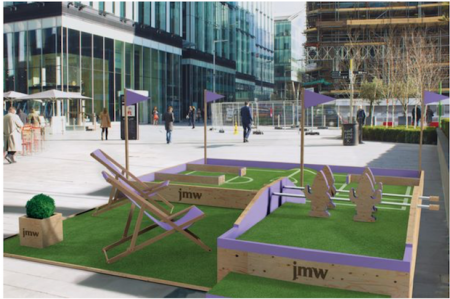 Pop up golf comes to central Manchester