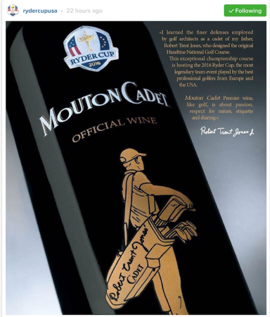 Team USA launch 'golf wine' for the Ryder Cup