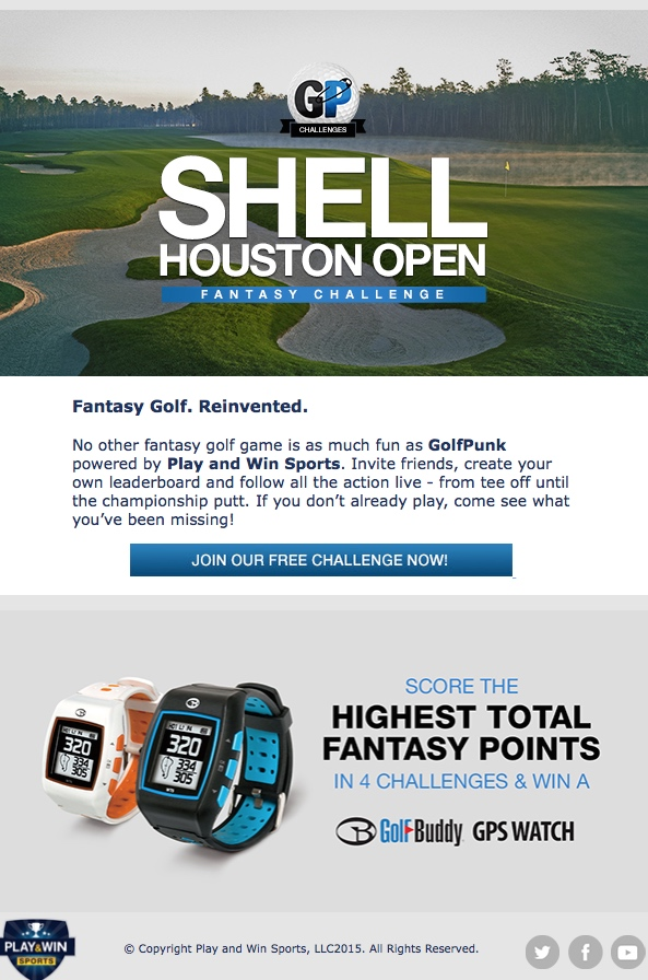 Shell Houston Open Fantasy Challenge
