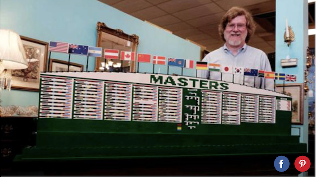 Masters gets the Lego treatment