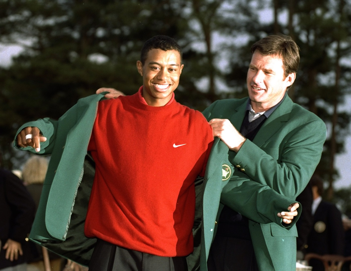 Tiger Woods out of the Masters