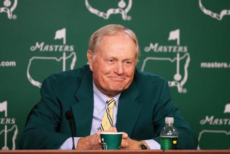 Jack Nicklaus makes his Masters Entrance