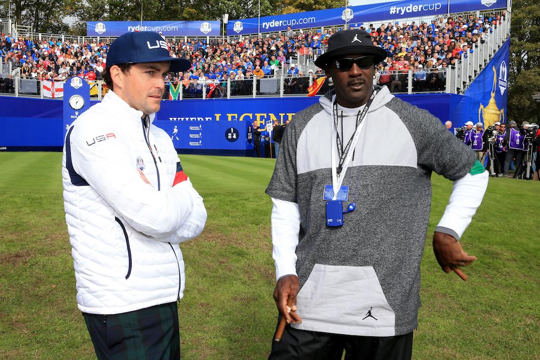 Keegan Bradley pays on course tribute to Michael Jordan