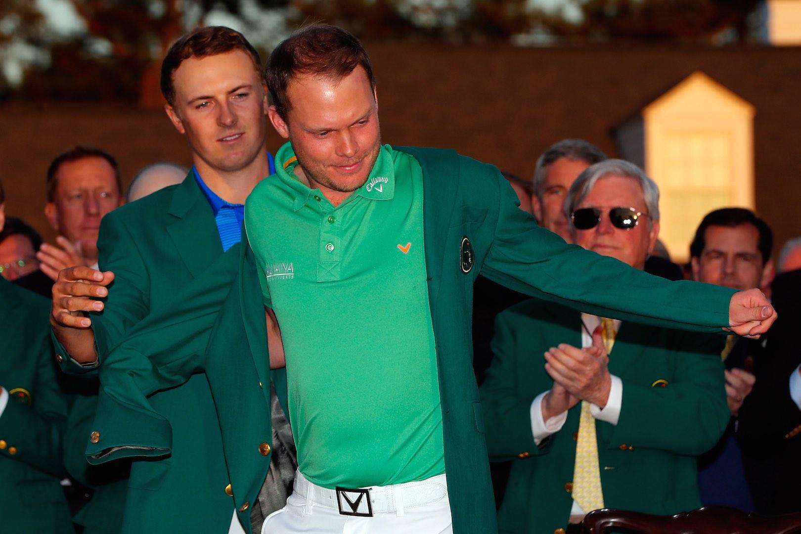 Jordan & Danny's Green Jacket Grapple