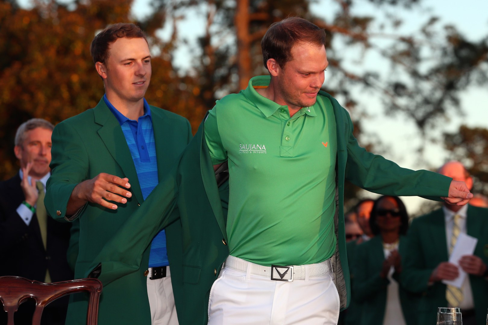 Danny Willett's Masters menu