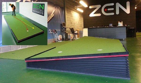Zen Green Stage adjustable putting platform launched