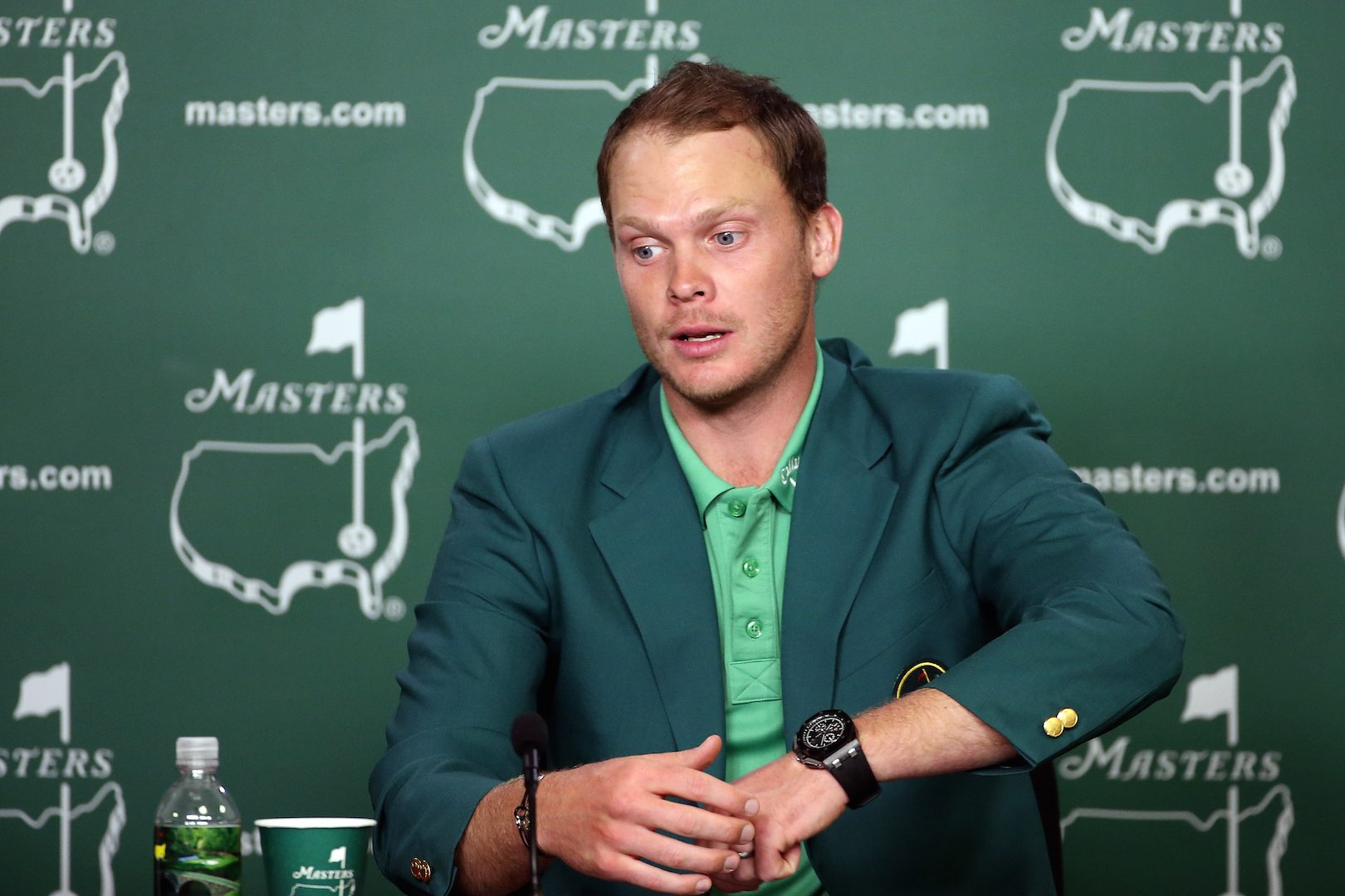 Get The Masters Champion's Watch