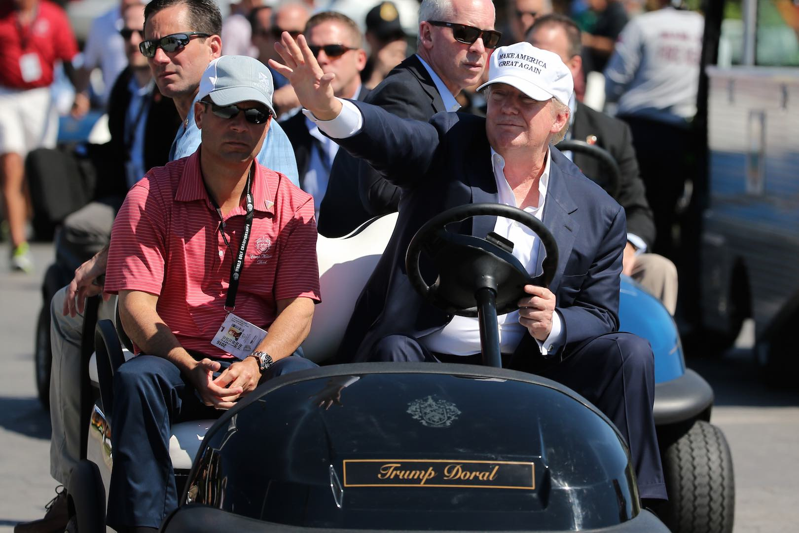 Trump Charges Secret Service To Use His Golf Carts!!!