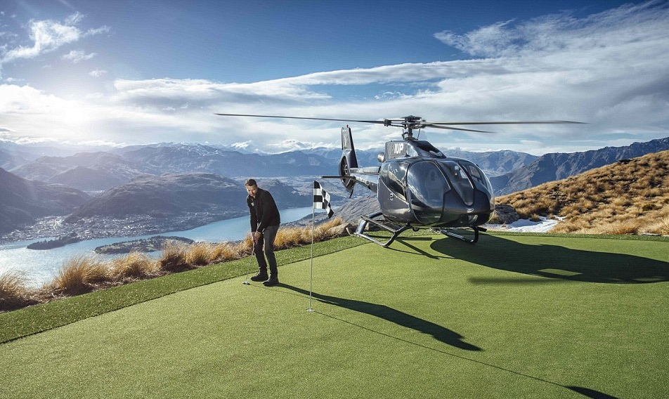 Check out the world's highest golf course