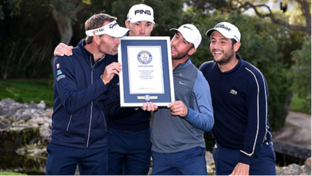 Sergio Garcia leads Guinness Book of World Records attempt