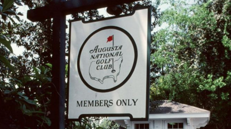 Augusta National Sign goes under the hammer