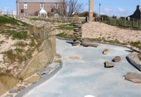Britain's most northerly crazy golf course opens in Orkney