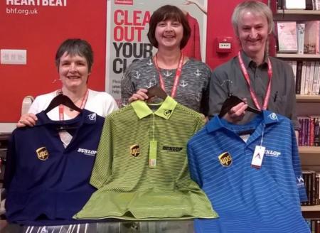 Lee Westwood makes surprise Charity Shop Donation