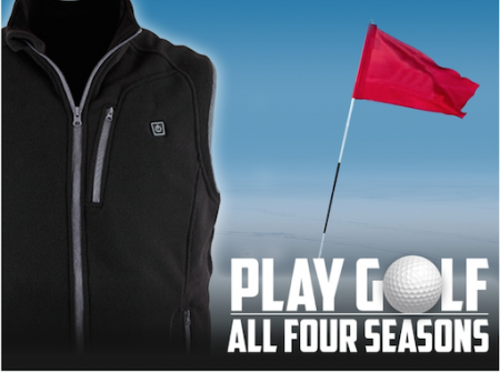 The World's first heated golf vest