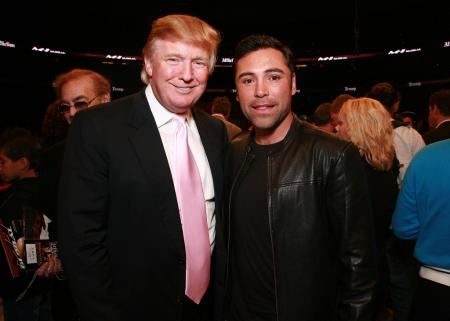 Oscar De la Hoya latest to call out Trump