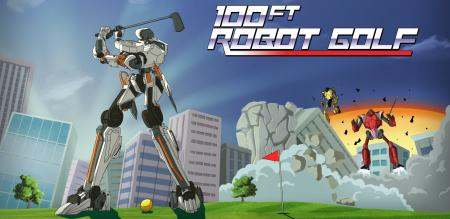 100 ft robot golf