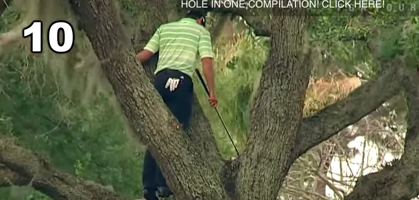 Halloween Special – Top 10 Nightmare Golf Swings Ever