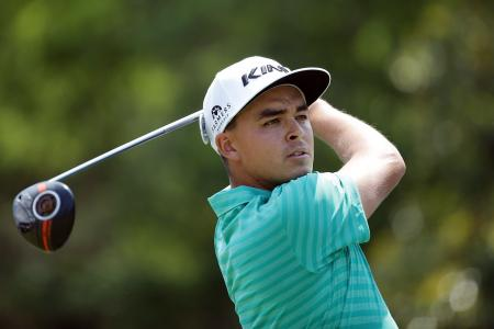 Rickie Fowler leads at Wells Fargo
