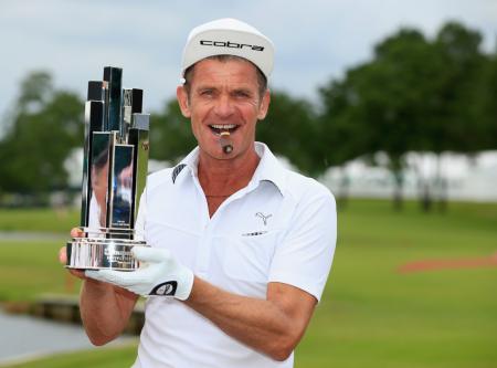 Jesper Parnevik wins on Champions Tour