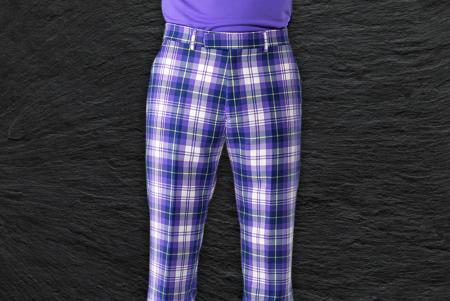 IJP Design Poulter Tartan Trousers