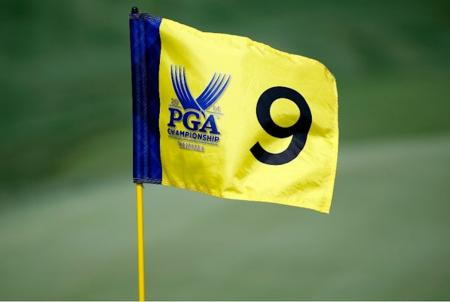 nine hole flag