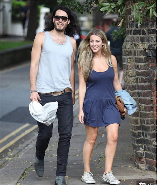 Laura Gallacher is carrying Russell Brand's child