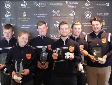 The Golf College wins British Schools & Colleges Event