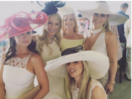 Lindsey Vonn and Elin Woods getting on just fine