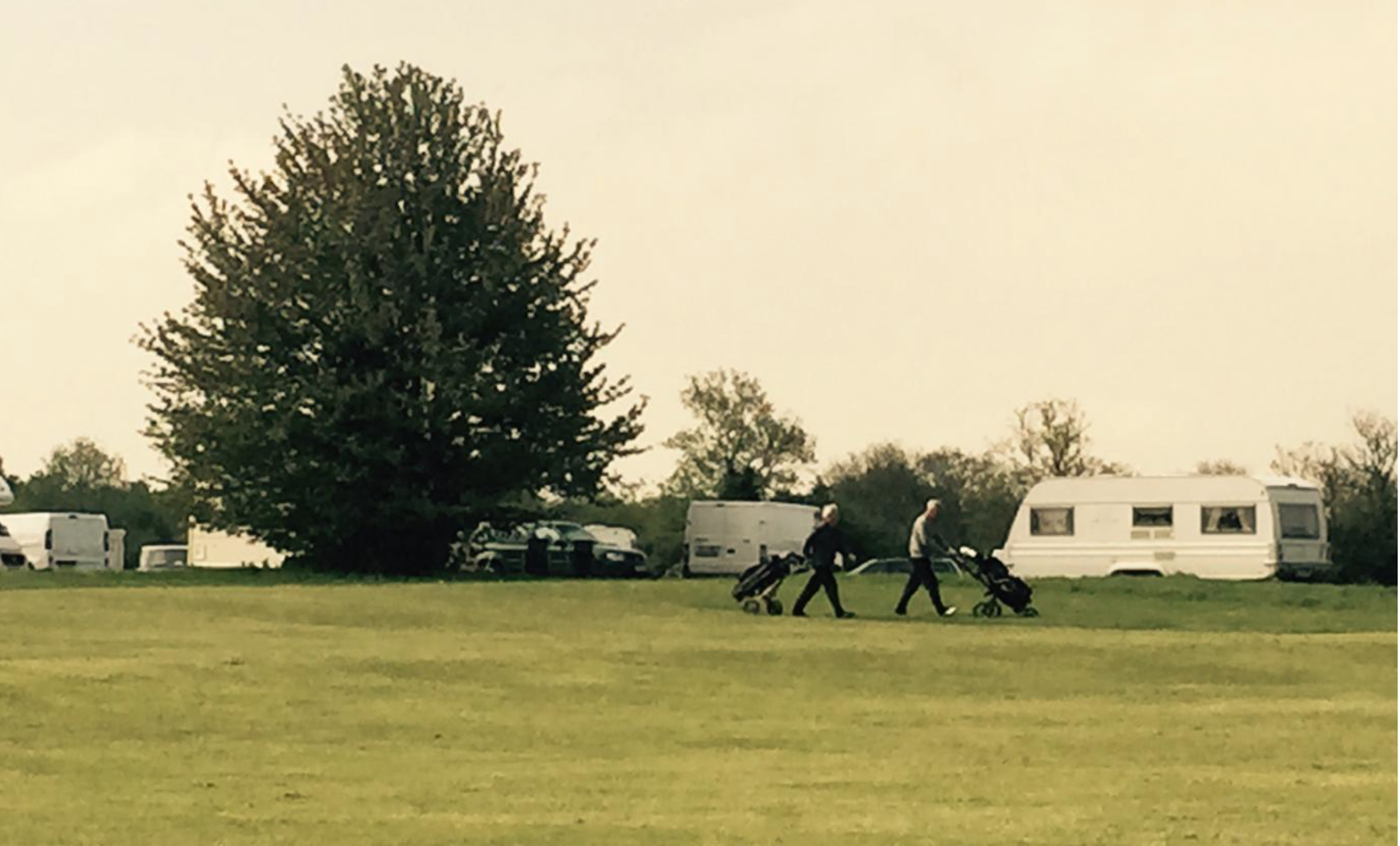 London golf club becomes Traveller campsite