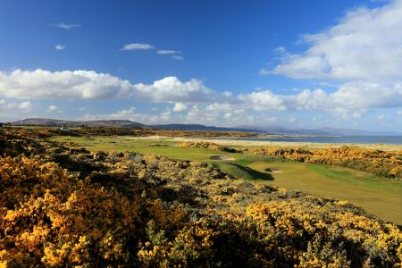 Royal Dornoch in a gale
