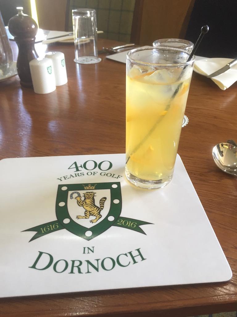 Royal Dornoch in a gale