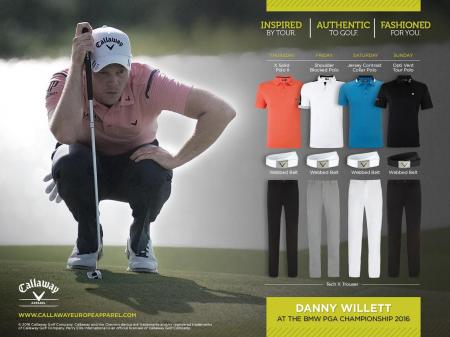 Callaway showcase new collection at BMW PGA