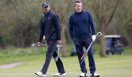 How Cameron was outclassed on the golf course